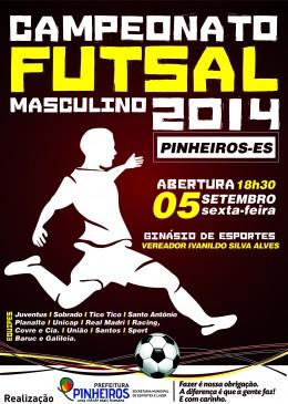 Campeonato Futsal Masculino - FACE