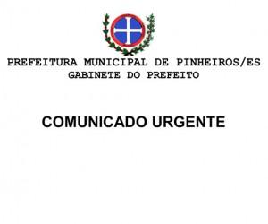 COMUNICADO - DECLARAÇÃO DE BENS cópia
