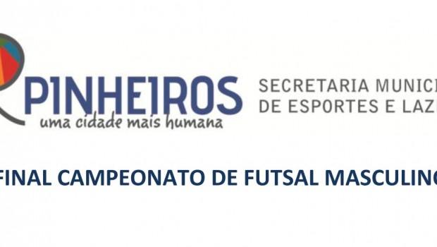 Final Campeonato de Futsal Masculino cópia