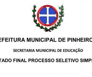RESULTADO FINAL PROCESSO SELETIVO 2014-2015-1 cópia