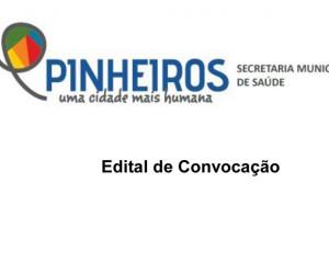 Edital de Convocau saúde