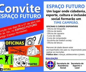 Espaço Futuro - convite